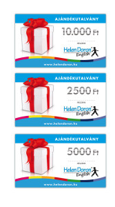 Helen Doron ajándékutalványok