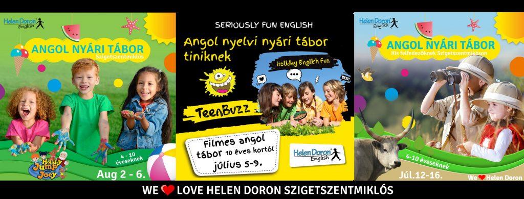 Helen Doron Szigetszentmiklós angol nyelvi nyári tábor 2021